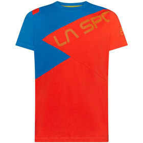 La Sportiva Float T-Shirt Men poppy/neptune